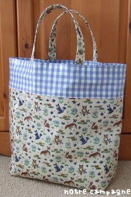 リバティのプールバッグ