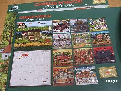 CHARLES WYSOCKI のカレンダー
